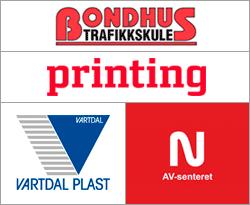 Bondhus Trafikkskule / Printing AS / Vartdal Plast / Av-senteret