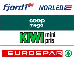 Fjord1 Buss / Coop Mega Volda / Kiwi Volda / Eurospar Ørsta